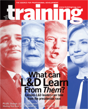 Training Magazine March -April 2016 Cover